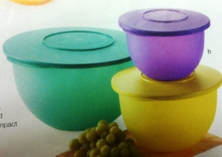Tupperware Impressions Bowl Set