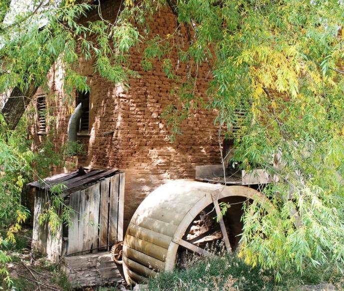 Old Mill at La Cueva