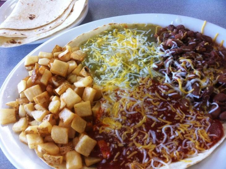Huevos Rancheros from Twisters Burritos